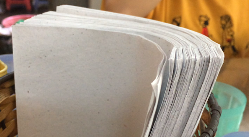 bột giấy tái sinh