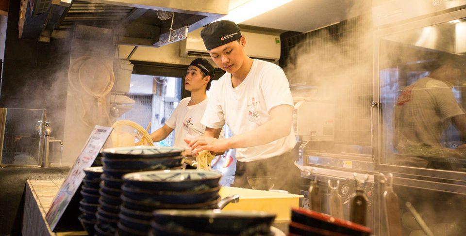 cách làm mì udon