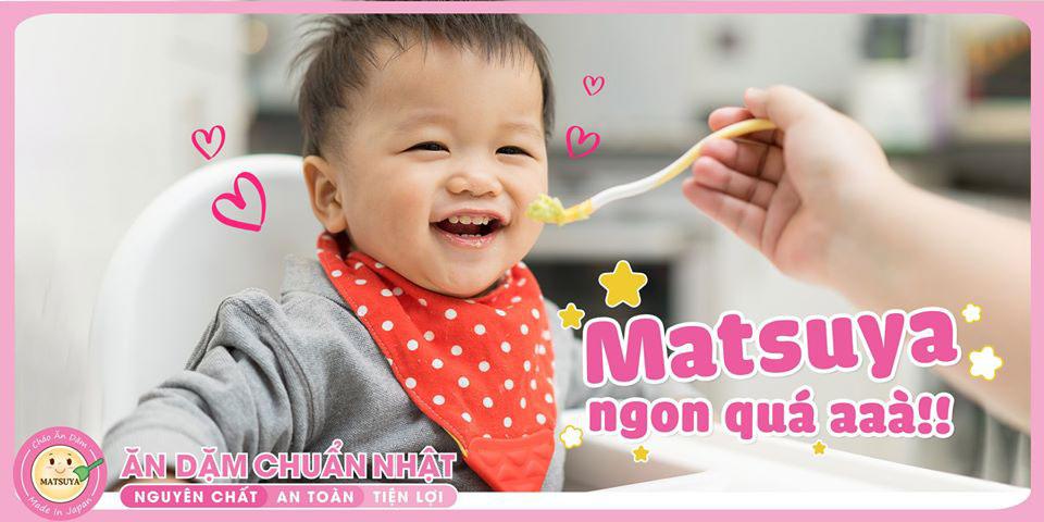 nấu cháo ăn dặm Matsuya