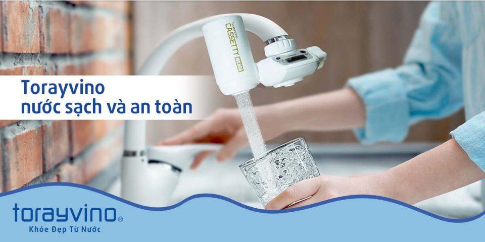 Thiết bị lọc nước hàng đầu Nhật Bản