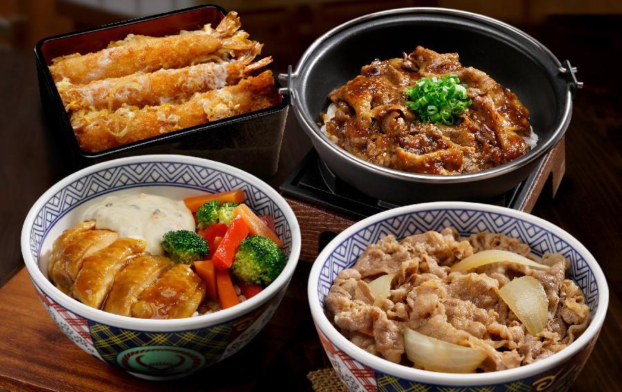 các món cơm Nhật Bản