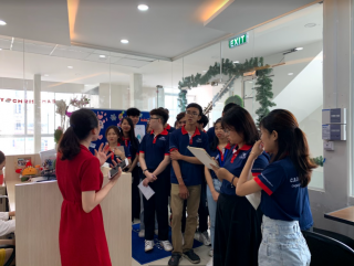Lotus Group Company Tour cùng Cao Đẳng Việt Mỹ