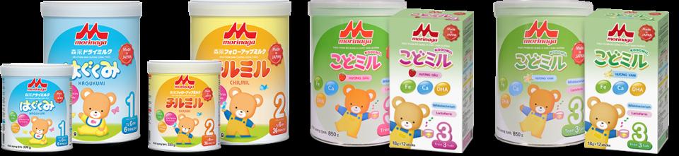 sữa Morinaga Nhật Bản